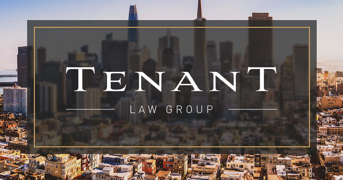 Tenant Law Group   Do I Have a Case?